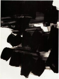 Pierre Soulages - Untitled, 1963