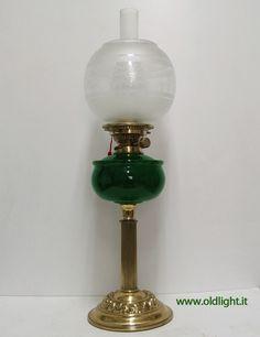 Lampada da tavolo ( Inglese) stile Vittoriano, colonna e base in ...