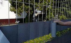 Taśmy ogrodzeniowe - szybki i łatwy sposób na zmianę wyglądu ogrodzenia  :)