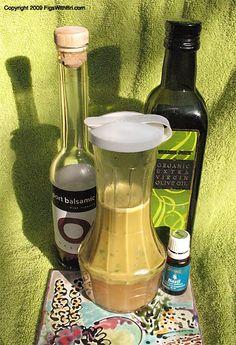 Meyer Lemon & Basil Vinaigrette
