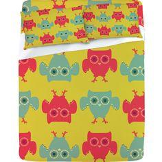 """""""Owl Pattern"""" Sheet Set"""