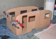 Miniature Gypsy caravane kit-Superbe kit-mcqueenies 12th échelle À faire soi-même