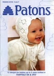 Patons 382 Knitting for Baby Baby Cardigan Knitting Pattern Free, Kids Knitting Patterns, Baby Sweater Patterns, Knit Baby Sweaters, Knitted Baby Clothes, Crochet Pattern, Baby Knits, Baby Knitting Books, Vogue Knitting