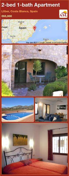 2-bed 1-bath Apartment in Lliber, Costa Blanca, Spain ►€65,000 #PropertyForSaleInSpain