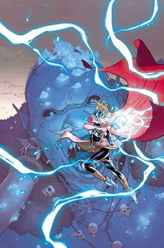 Thor N°2 - Art and cover by Russell Dauterman