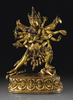 Statuette de Chakrasamvara and Vajravarahi en alliage de cuivre doré Tibet, XVIE siècle Buddha Life, Buddha Art, Asian Sculptures, Vajrayana Buddhism, Buddhist Practices, Oriental, Buddhist Traditions, Master Of Fine Arts, Tibetan Art