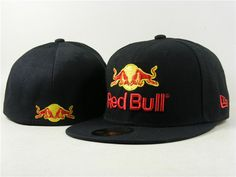 Red Bull Fitted Hats 018