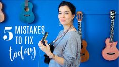 5 Mistakes That Make Your Ukulele Sound Bad | Taught By A Music Teacher