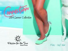 Flats !!! You wont believe the barefoot feeling! Ref. Mint. Connection Collection, now available