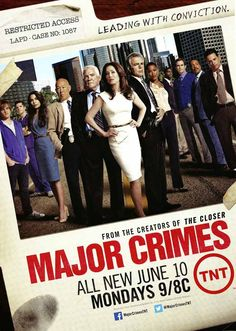 Can't wait for Season 2.  what will Flynn and Provenza get up to?  Major Crimes