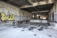 Detroit Abandoned Building by Joe Gee