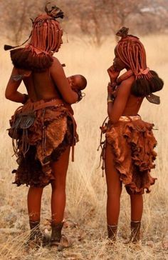 People of Namibia African Tribes, African Women, African Art, Black Is Beautiful, Beautiful People, Himba People, Kind Photo, Africa People, Tribal People