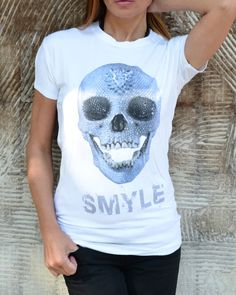 NEW Designe Unisex T-shirt / Print Skull Tee / Tank Top by Cotton9