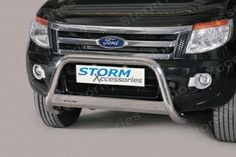 Ford Ranger EU Stainless Steel A-Bar Front Bar 63mm (2012 on)