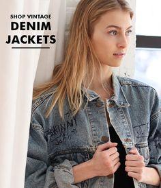 a0480d171e6f8 Ragstock Shop Vintage Denim Jackets Denim Jackets