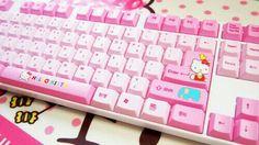 Pink Key Board