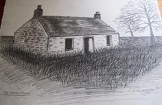 The Forgotten Cottage: This is a picture of a old highland cottage that no one lives in now and sadly is long since forgotten about left to rot and decay open to the ellimnets,