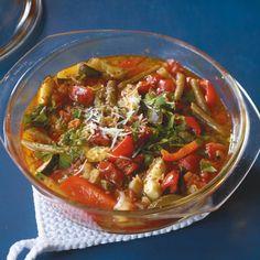 Gemüseeintopf aus dem Ofen