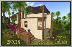 Second Life The Banana Cabana