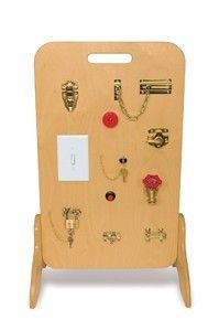 Locks & Latches Fine Motor Board-- brian still needs to do this!!!