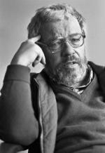 Jerzy Nowosielski, artysta malarz, profesor Akademii Sztuk Pieknych w Krakowie. Fot. Wojciech Plewinski/FORUM