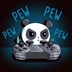 Mini Pew Pew Panda T-Shirt TeeTurtle
