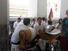 Dàn nhạc ở Wat Pho