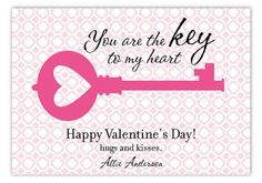 Unlocked Love Valentine Card