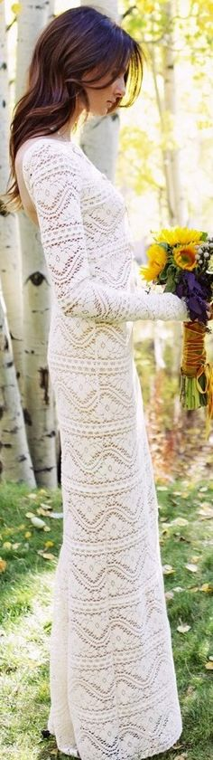boheme style bridal - this might just be the most beautiful wedding dress I have ever seen