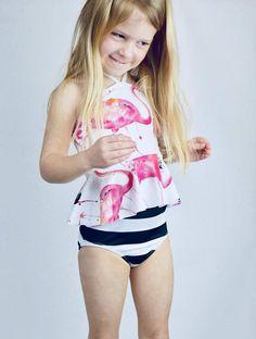 7e338740e7 Swimsuit TOP / Swimwear/ Swim suit/ Girls Swimwear/ Girls Little Girl Bikini ,