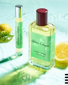Atelier Cologne Lemon Island Cologne Absolue Pure Perfume: This fragrance contains notes of salty jasmine from India and warm vanilla from Madagascar that blend Madagascar, Cologne, Fragrances, Jasmine, Sephora, Vanilla, Perfume Bottles, Lemon, Make Up