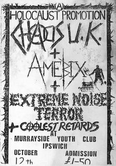 chaos uk-extreme noise terror-amebix
