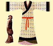 Vestimenta de mujer en la Etnia Han.