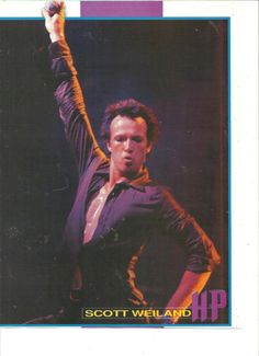 Scott Weiland, Velvet Revolver, Stone Temple Pilots, Full Page Pinup