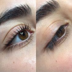 d0e462e322c Here is a lash makeover with just a lash lift! Book your appointment now at