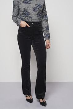 #NewYear #Long Tall Sally - #Long Tall Sally Tall Women's Cord Bootcut Pants in Black - Size 6 at Long Tall Sally - AdoreWe.com