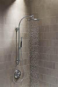 ... Bathroom Modern with Hydrorail Kohler Rain Head Shower Shower Head