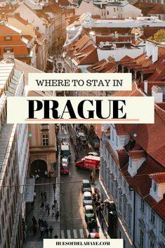 Wondering where to stay in Prague on your first visit. Here is a complete guide to the best areas to stay in Prague and hotels for first time visitors. Cool Places To Visit, Places To Travel, Travel Destinations, Europe Travel Guide, Travel Guides, Travel Advice, Travel Hacks, European Destination, European Travel