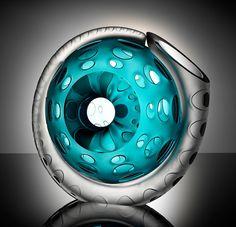 Ammonite Glass by Amanda Notarianni