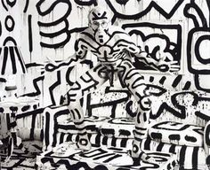 Keith Haring -- artist NYC 1980s
