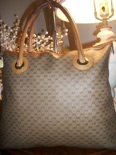 7a0e81ae202 Vintage Authentic Large Gucci Tote Handbag by BRELEBAGSANDJEWELRY