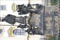Josef Winterhalder st. - Sousoší sv. Jana Nepomuckého, Hradisko u Olomouce, 1736-7