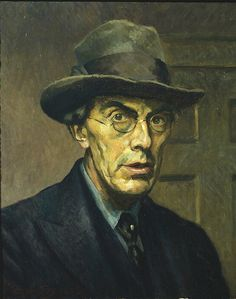 "Roger Fry, Self portrait  He was described by the art historian Kenneth Clark as ""incomparably the greatest influence on taste since Ruskin... In so far as taste can be changed by one man, it was changed by Roger Fry"""