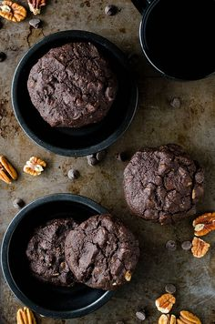 Double Chocolate Chip Cookies (Gluten Free) by Cooking ala Mel