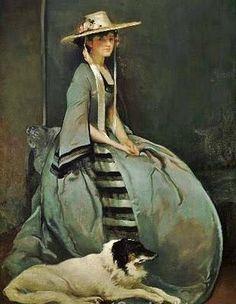 Aurora Leigh c. 1904 John White Alexander (American artist, 1856-1915)