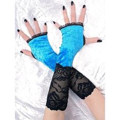 Black and Blue Stunners by Silvana Sagan on Etsy