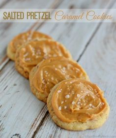 Salted Pretzel Caramel Cookies Recipe, with homemade sugar cookies of course!