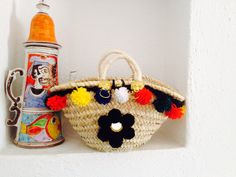 Mini coffa tradizionale Straw Bag, Mini, Bags, Handbags, Bag, Totes, Hand Bags