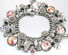 Pinups Charm Bracelet