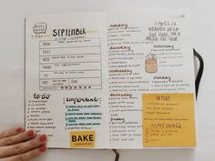 """gudetama-studies: """" This week's bullet journalling spread. I can't believe the week is e n d in g… nooo, come back! (。•́︿•̀。) I quite like how it looks but I think I would have preferred some space to..."""